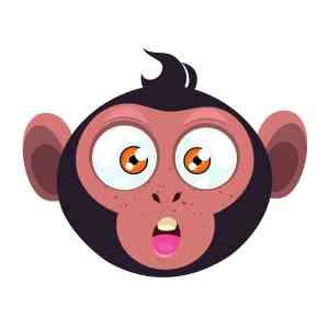 Bügelbild Monkey 7