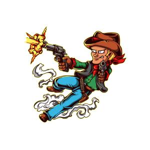 Bügelbild Little Cowboy