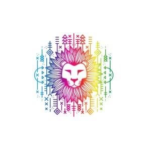 Bügelbild LION
