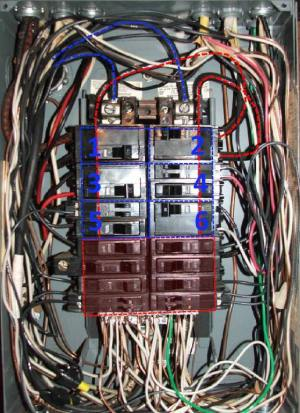 Split Bus Electrical PanelsNo Main Breaker  Charles Buell Inspections Inc