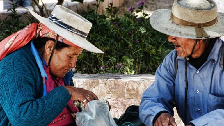 Sim, tem quem use a folha de coca em Salta