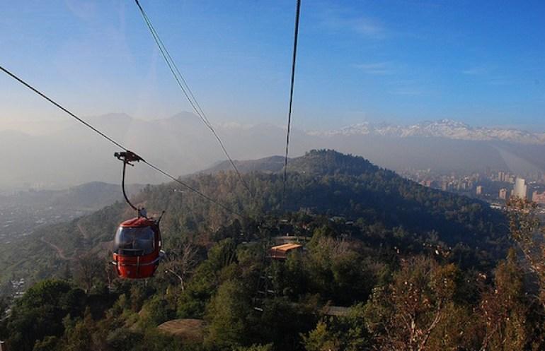 teleferico cerro san cristobal santiago chile