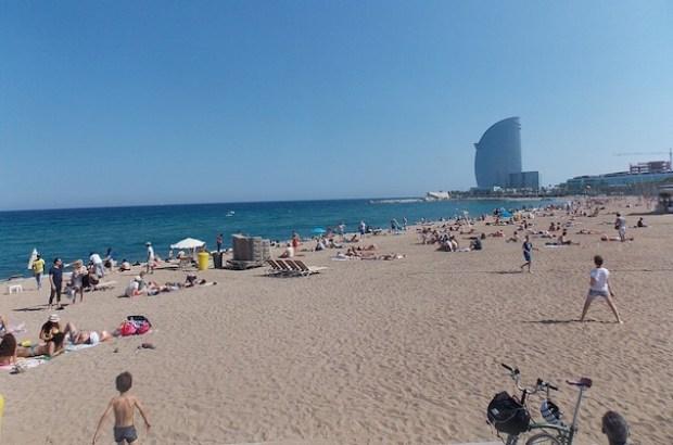 barceloneta bairro barcelona praia