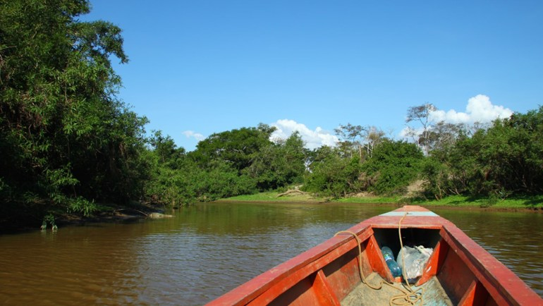 barco amazonia desmatamento