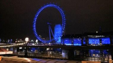 A roda gigante London Eye