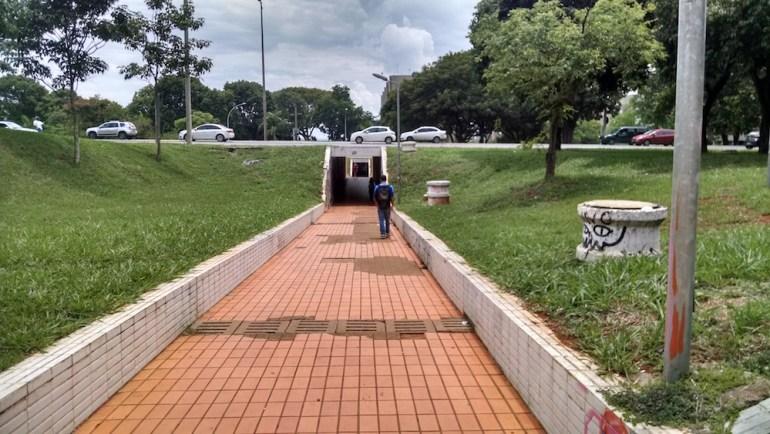 travessia eixão brasilia