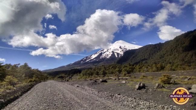 estrada vulcao villarrica pucon