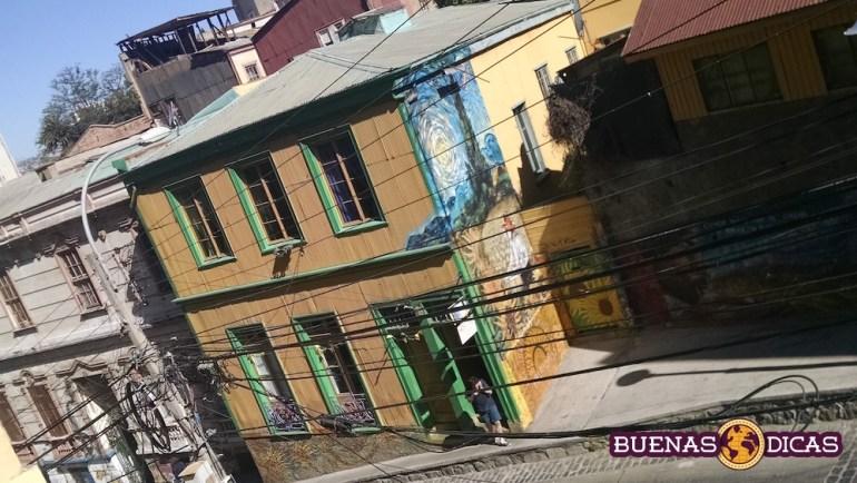 grafite valparaiso chile