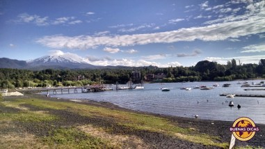 panorama lago villarrica pucon