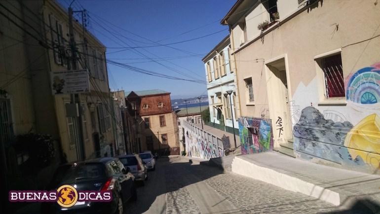 rua valparaiso chile