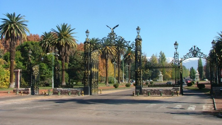 Entrada do Parque General San Martín