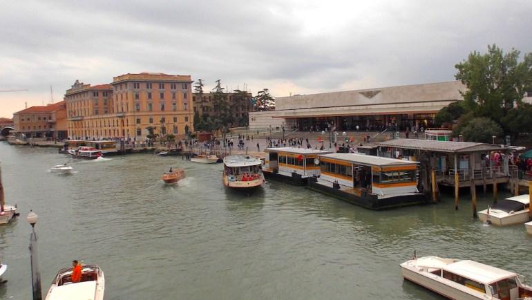 estação de trem santa lucia veneza