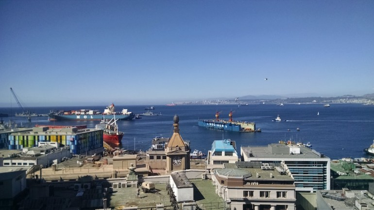 o que fazer vina del mar valparaiso vista porto navios ascenso