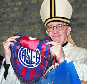 papa francisco torcedor san lorenzo