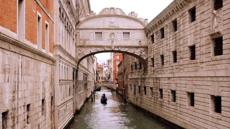 ponte dos suspiros pontos tutristico veneza