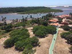 Vista do Farol de Preguiças, em Mandacaru