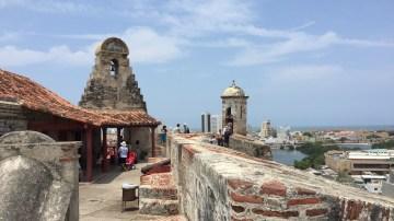 Mirantes no Castelo de San Felipe