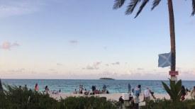 Vista para Johnny Cay, a partir da Isla Acuario