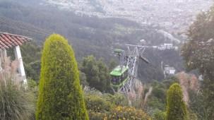 Teleférico no Cerro Monserrate