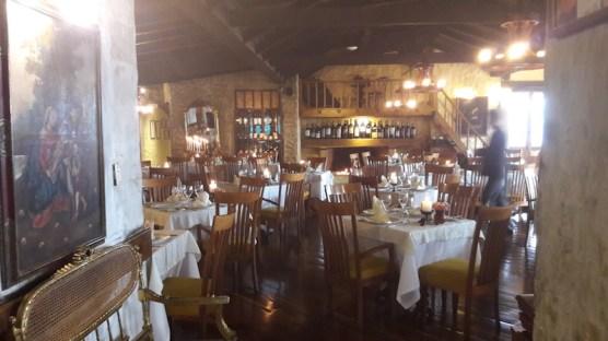 Restaurante Casa San Isidro, em Monserrate