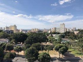 Vista do hotel Crystal Plaza