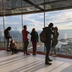 Durante o dia na CN Tower