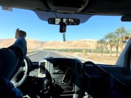 Estrada em Israel, tour pra Masada e Mar Morte