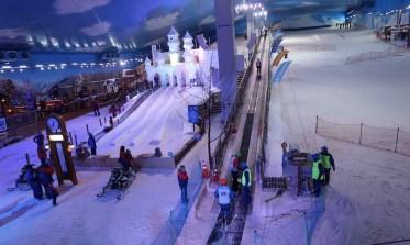 Tubing e pista de esqui