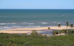 Praia dos Nativos vista do Quadrado