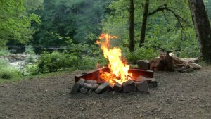campground-fire