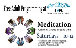Meditation @ Buena Vista Public Library | Buena Vista | Colorado | United States