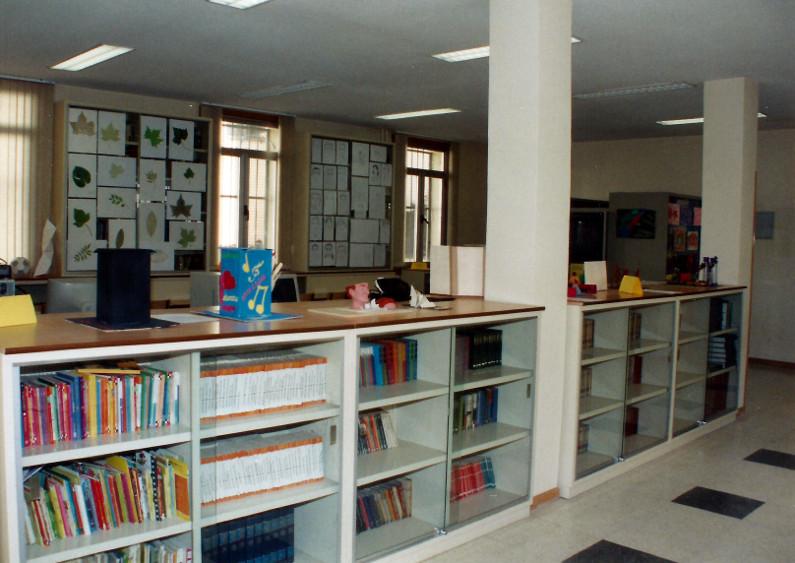 Biblioteca del Colegio Buen Consejo de Madrid