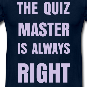 The First Rule of Pub Quiz