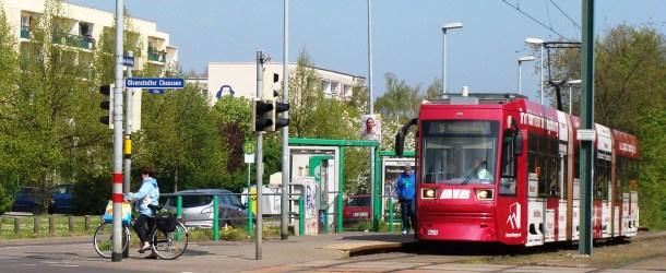 Bilder von Hubert Rauch – 30 Jahre Straßenbahn nach Olvenstedt