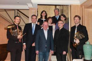 Gruppenfoto - Preisverleihung StiftungsSalon am 24.03.2015