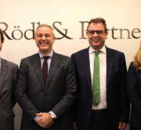 Rödl & Partner contrata a varios abogados de Pluta abogados