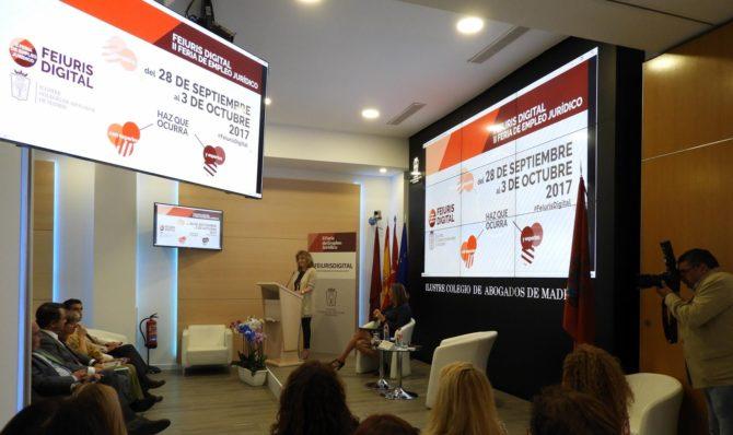 Colegio Abogados de Madrid organiza la II Feria de Empleo Jurídico