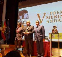 Los Colegios de Granada y Jaén consiguen el Premio Menina por su labor