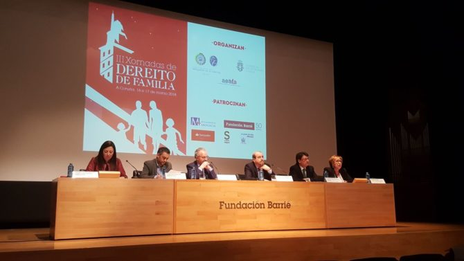 Jornadas Derecho de Familia cierra su tercera edición en Galicia