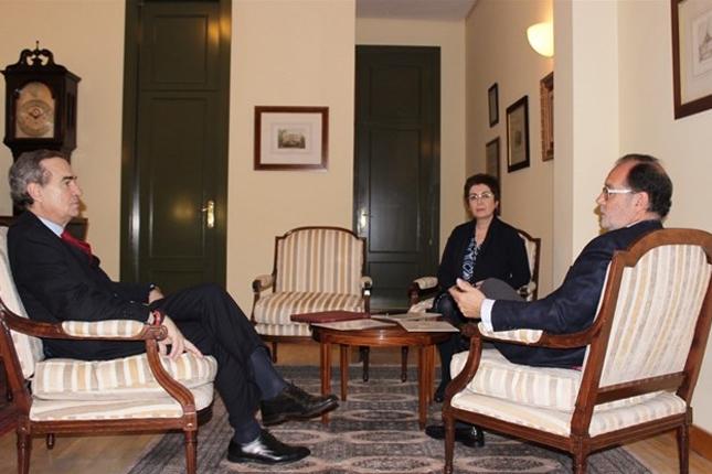 José María Alonso quiere mejorar las condiciones de las sedes judiciales en Madrid