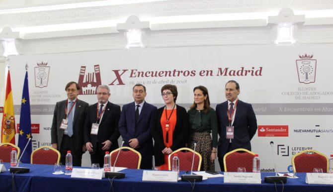 El Fiscal General del Estado clausura los X Encuentros en Madrid