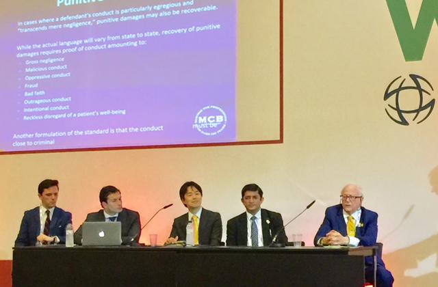 Abogados españoles participan en el World Ophthalmology Congress de Barcelona