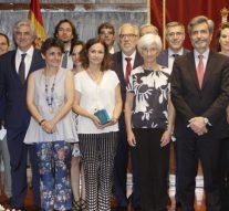 Carlos Lesmes preside los premios de Calidad de la Justicia