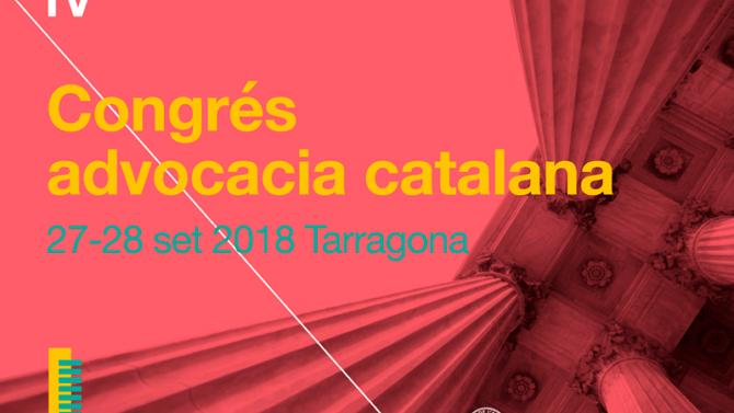 IV Congreso de la Abogacía Catalana se celebrará en Tarragona