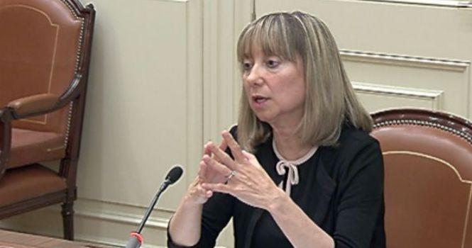 Lucía Jiménez, presidenta de la Audiencia Provincial de Lérida