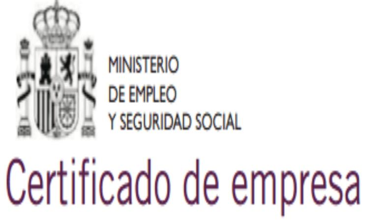 Tramite obligatorio tras un despido: certificado de empresa