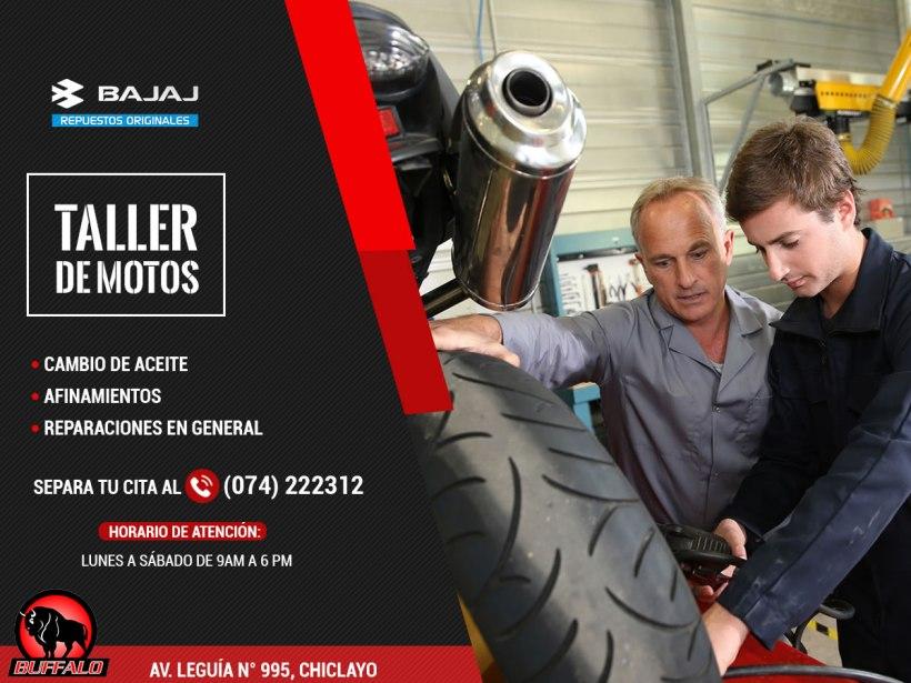 Taller de motos en Chiclayo