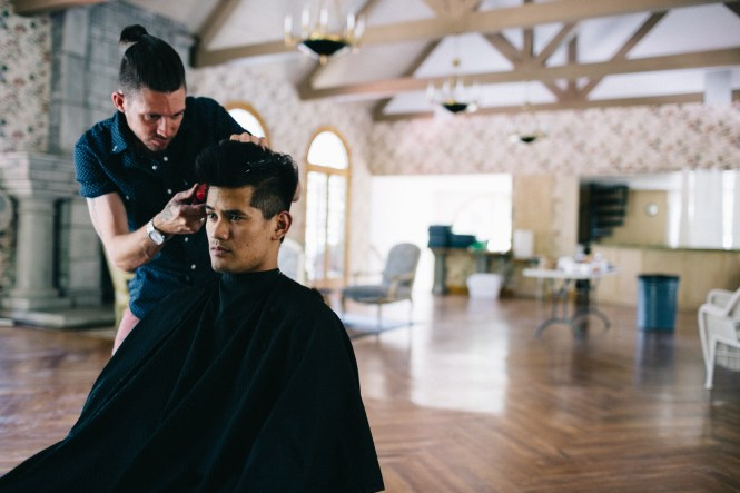 Up To 52 Off Men S Haircut And Shave At Primos Barber Shop