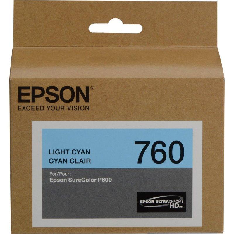 Epson T760520 UltraChrom HD Ink Light Cyan ink Cartridge (25.9 ml)