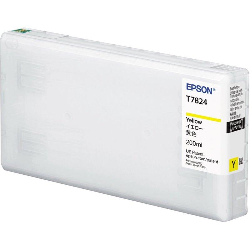 Epson T782400 UltraChrome D6-S Yellow Ink Cartridge (200 ml)